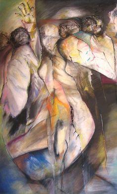 "Salome by Raymond MacDonald. CIRCA: 2008 DIMENSIONS: 55"" h x 34"" w"
