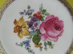 Large Czech Plate from fromdaysgoneby on Ruby Lane