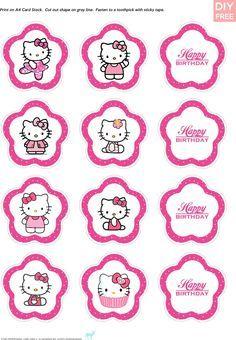 Ideas e imprimibles gratis de la Hello Kitty para fiestas infantiles   Decorar tu casa es facilisimo.com