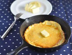 Dutch Baby (Puffy Pancakes) - Low Carb, Keto, Gluten-Free