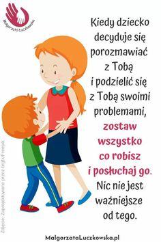 Polish Language, Kids And Parenting, Motto, Psychology, Life Hacks, Parents, Advice, Education, Children