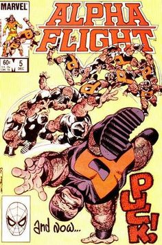 Alpha Flight Vol 1 #5 - John Byrne
