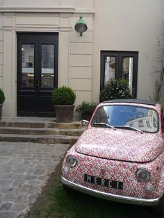 Liberty of London Print Retro Fiat - love this for summer!