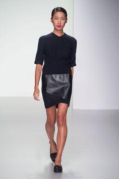 J. JS Lee at London Fashion Week Spring 2014 - StyleBistro