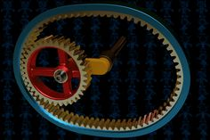 Fun With Gears XXII - Autodesk 3ds Max,SketchUp,SOLIDWORKS,AutoCAD,Parasolid - 3D CAD model - GrabCAD