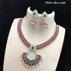 Temple Jewellery Available at Ankh Jewels for booking WhatsApp on India Jewelry, Temple Jewellery, Metal Jewelry, Silver Jewelry, Gold Jhumka Earrings, Silver Engagement Rings, Ring Engagement, Silver Rings With Stones, Mens Silver Necklace