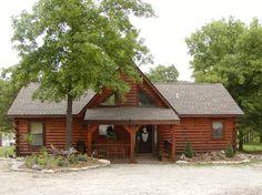 3 Bdr. log cabin rental in Branson