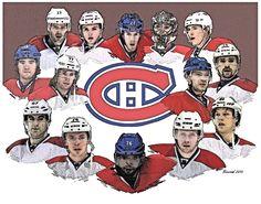 Les Héros du Canadiens en Séries 2015 Montreal Canadiens, Team Photos, Hockey Teams, New Pictures, Nhl, Captain America, Coins, Superhero, Sport