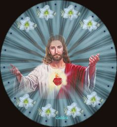 Jesus Christ on a plate gif Religious Pictures, Jesus Pictures, Heart Of Jesus, Jesus Is Lord, Halloween Imagem, Jesus Mother, Bible Verses About Strength, Novena Prayers, Jesus Christ Images