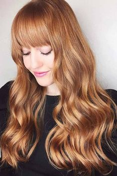 A strawberry blonde hair shade is often chosen by women because it makes them appear quite sexy. In its essence, this shade combines blonde and some pinkish tint. Strawberry blonde comes in a variety of hues, let's explore some hot variations. #haircolor #strawberryblonde