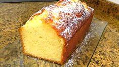 bizcocho-de-limon-casero Basic Sponge Cake Recipe, Sponge Cake Recipes, Plum Cake, Types Of Cakes, Almond Cakes, Lemon Recipes, Recipe Images, Dessert Recipes, Desserts