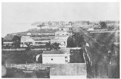 (1858) View from the Lighthouse, Looking Down Second Street - Fairport Harbor, OH
