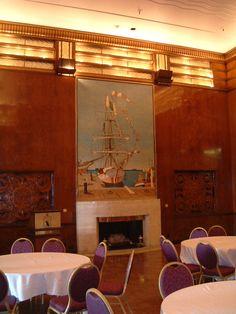 Royal Salon, Queen Mary, Long Beach, CA