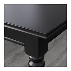 INGATORP Extendable table, black - IKEA