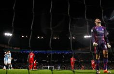 Credit: Phil Noble/Reuters Liverpool's goalkeeper Simon Mignolet feels the pain after being caught out of position and conceding a goal by M...