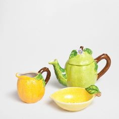Lemon-Shaped Breakfast Set - Coffee and Tea - Tableware | Zara Home Canada