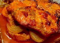 Kebabowa karkówka - Blog z apetytem Polish Recipes, My Recipes, Cooking Recipes, Kielbasa, Pork Dishes, Tandoori Chicken, Food Porn, Food And Drink, Tasty