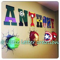 Avengers kids room