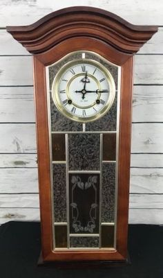 Have An Inquiring Mind Vintage Wooden Old Pendulum Wall Clock Master Brand With Original Key Clocks Antiques