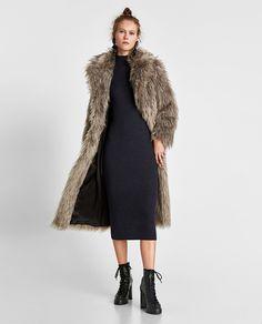Donna in Pile Maglia Tunica Tulipano Vestito Aderente Lungo Felpa Plus Size
