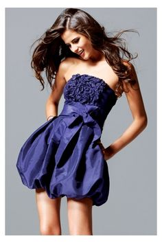 sculptured-strapless-cocktail-dress-with-empire-rosette-bodice-with-bubble-skirt_1358442570153.jpg (320×480)