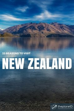 The Tranquil beauty of Lake Wanaka on the South Island of New Zealand - New Zealand is probably one of the most photogenic country's on earth. | The Planet D: Adventure Travel Blog: