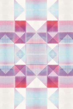 Pretty printed textiles by Nancy Straugham.