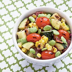 Grilled Summer Veggie Succotash | Coastalliving.com