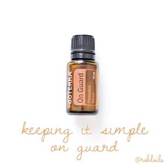 On Guard is another staple oil in our house. You'll see from the list below that it is one you want to have in your home for the various benefits it provides. As one of doTERRA's best-selling blends, On Guard protects against environmental and seasonal threats with essential oils known for their positive effects on the immune system.* It can also be used on surfaces throughout the home as a non-toxic cleaner. When diffused, On Guard helps purify the air, and can be very energising and…