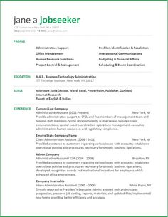 administrative assistant resume - Administrative Assistant Resume