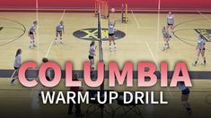 Columbia warm-up drill for better ball control - Volleyball drills - Volleyball Warm Ups, Volleyball Training, Volleyball Workouts, Volleyball Quotes, Coaching Volleyball, Women Volleyball, Volleyball Ideas, Trauma, Columbia