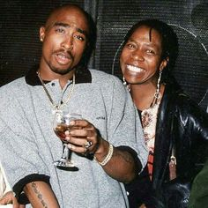Tupac and his Mom Afeni
