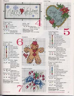 Cross-stitch Christmas Mini Ornaments Set, part 2... Gallery.ru / Foto # 72-29 - 633-10-66