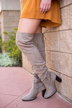 Zinc over the knee boots black. This trendy pair of over the knee boots is a…