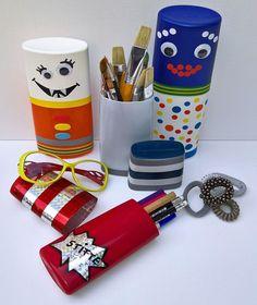 """Gut verstaut"" Diy Recycling, Upcycle, Diy Hacks, Crafts, Uganda, Holiday Program, Plastic Bottles, Shower Gel, Upcycling Ideas"