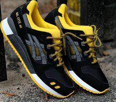 Asics Gel Lyte III–Black-Yellow