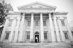 Philadelphia engagement session at the Second Bank of the United States by Krista Patton Photography