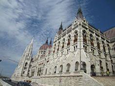 parlamento lato danubio