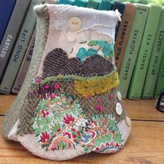 https://flic.kr/p/gG7XmL | Hand stitched lampshade of the north York moors. #tweed #northyorkshiremoors #lampshades
