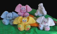 Baby Washcloth Bunny Instructional Video | YouCanMakeThis.com