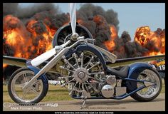 Badass Custom Radial Chopper by Rotec From Australia