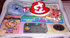 Ty Beanie Babies Official Club Platinum Edition Membership Bag 1999 Still Sealed #Ty