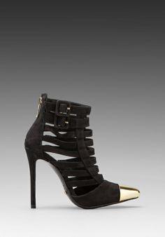 SCHUTZ Belia Heel in Black -