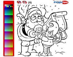Juego de Pintar Regalos de Navidad http://www.juegos-gratisjuegos.com/juego-pintar-regalos-navidad/
