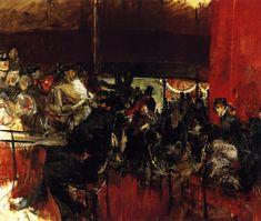 The Red Café - Giovanni Boldini 1887