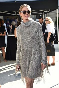 Olivia Palermo arrives at Valentino Fashion Show during Paris Fashion Week : Haute Couture F/W 2016-2017 on July 6, 2016 in Paris, France.