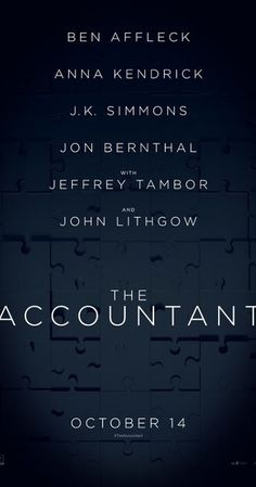 Directed by Gavin O'Connor. With Anna Kendrick, Ben Affleck, Jon Bernthal, Alison Wright. A forensic accountant un-cooks the books for illicit clients