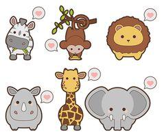 Free safari animal icons - Web Design Resources