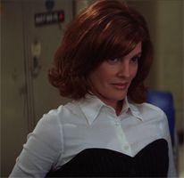 Kathryn Banning (Rene Russo) @ The Thomas Crown Affair - in the original Michael Kors column dress (for Celine)