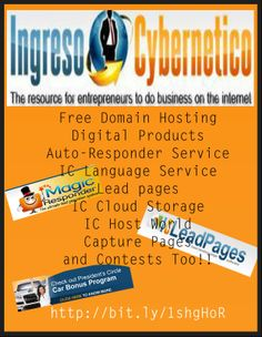 Ingreso Cybernetico has everything you need to your business.  Contact Me!!